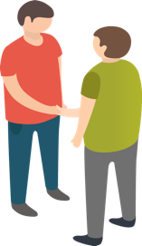 People Shaking Hands Icon