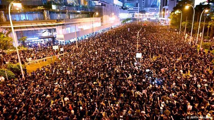 'China Crackdown on Hong Kong'