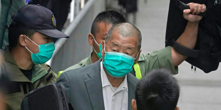'Hong Kong Newspaper Tycoon Jimmy Lai Jailed Over Role in Peaceful Protests'
