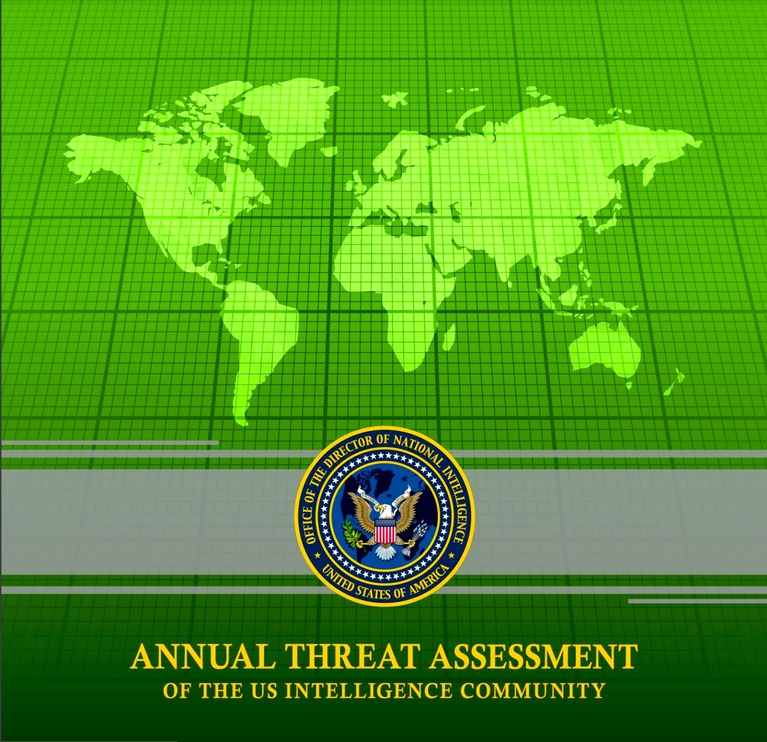 '2021 Annual Threat Assessment of the U.S. Intelligence Community'