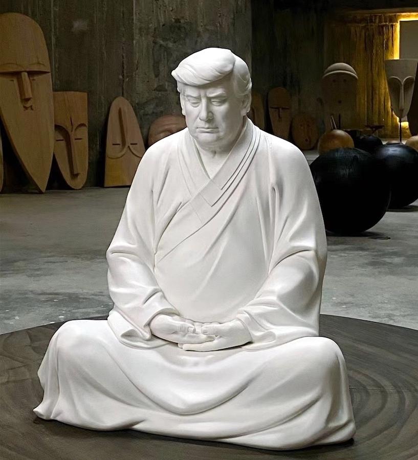 'Enter the Trump Buddha'