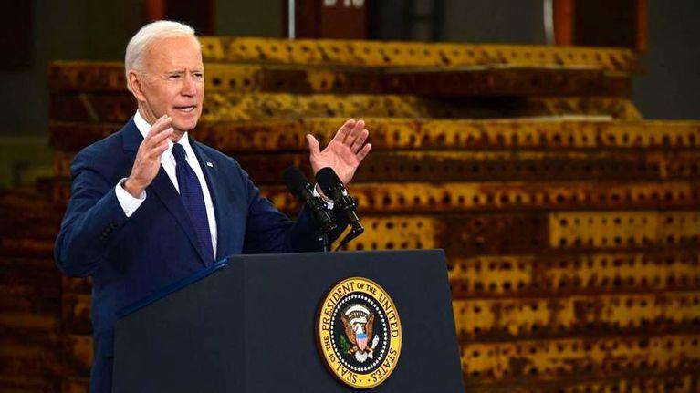 President Biden Lays Out His 'American Jobs' Plan