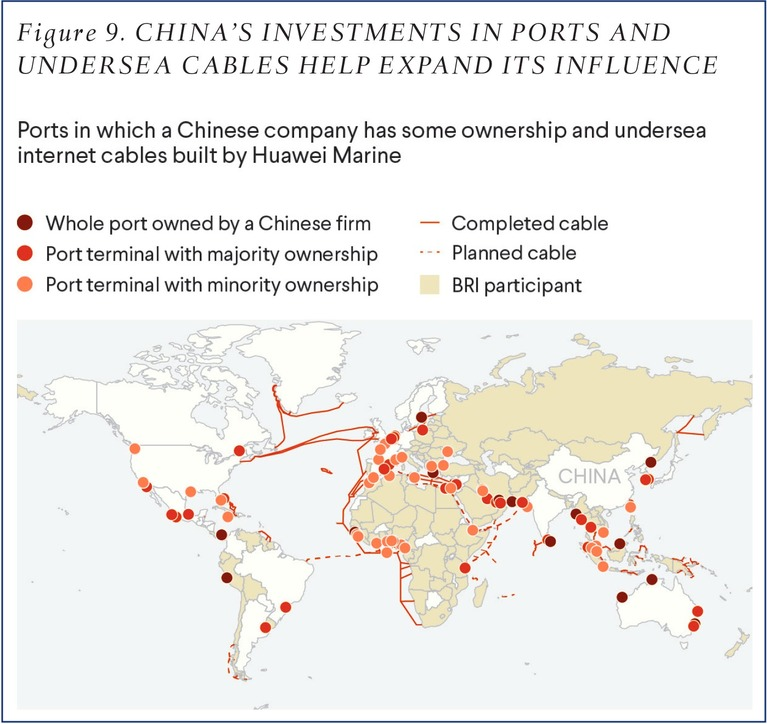 'China Owns, Partially Owns, or Operates 93 Ports'