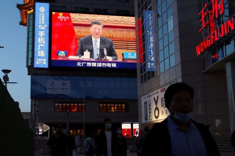'Xi calls for new world order (again)'