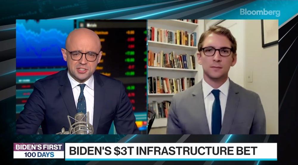 Biden Starts Infrastructure Bet With U.S. Far Behind China
