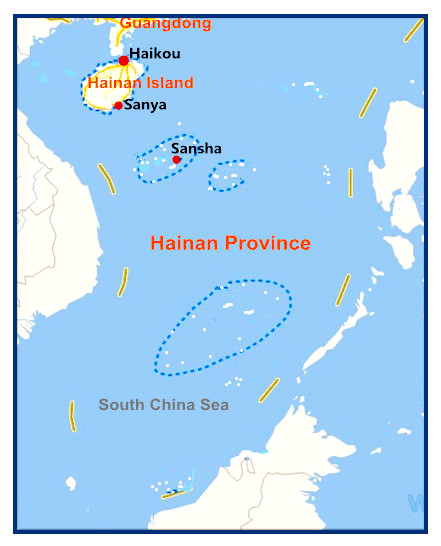 'Sansha City in China's South China Sea Strategy: Building a System of Administrative Control'