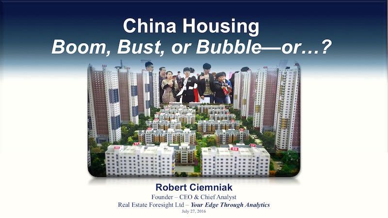 China Doesn't Have A Real Estate Bubble.