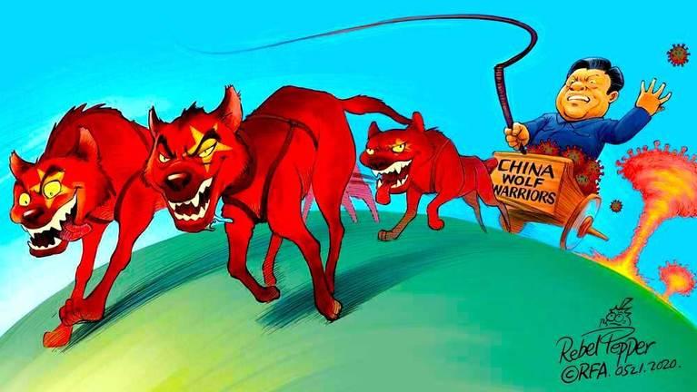 3 | Enter the 'Wolf Warriors'
