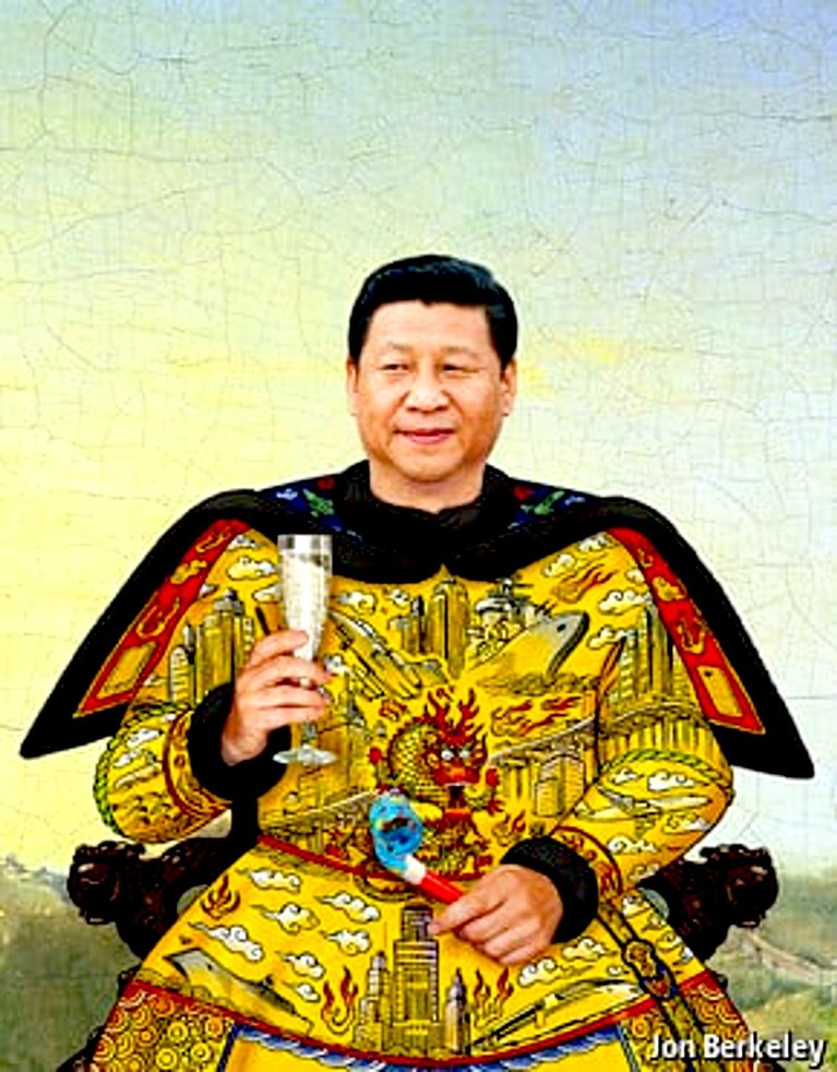Xi Jinping: Today, video games. Tomorrow, well ... just be good.