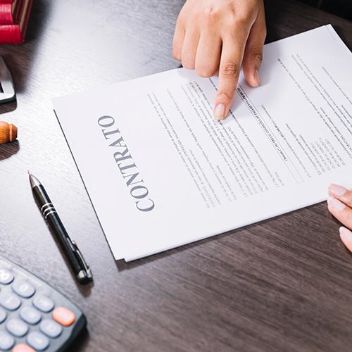 Contrato de Prestación de servicios de un Administrador