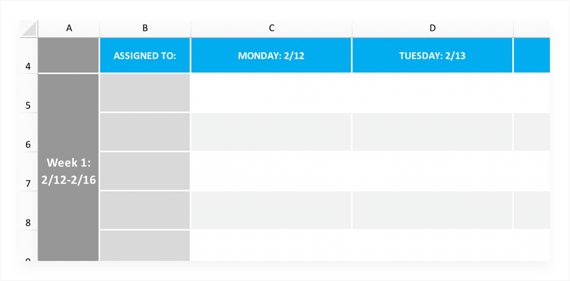 Project schedule: definitions & free template   teamgantt.