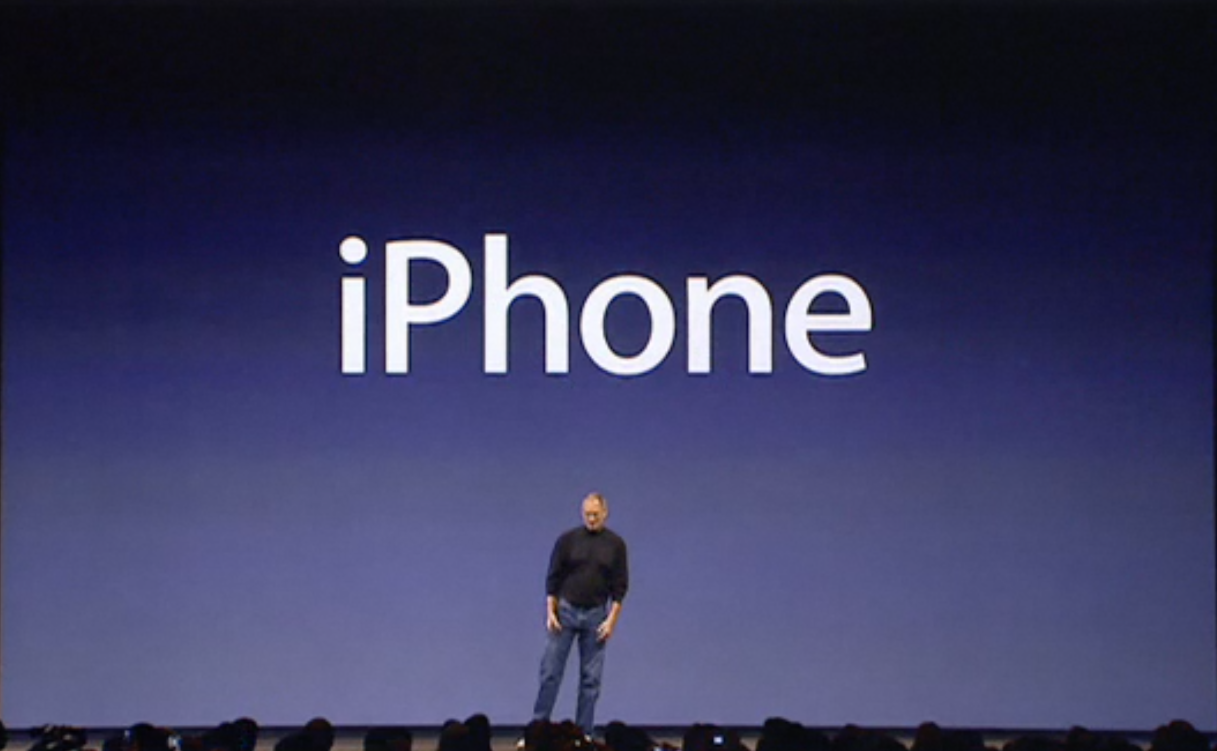 iPhone announcement presenation