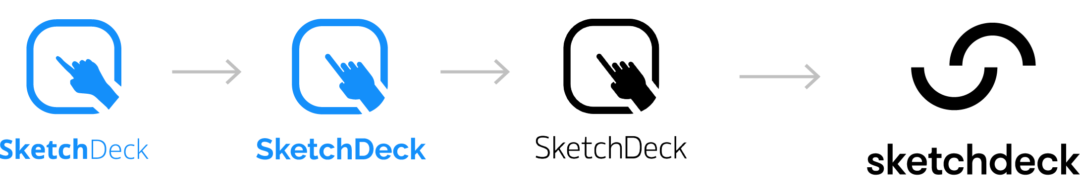 SketchDeck logo evolution