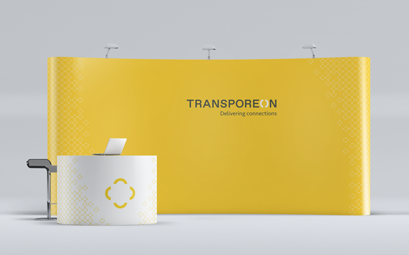 Transporeon - Pop-up stand