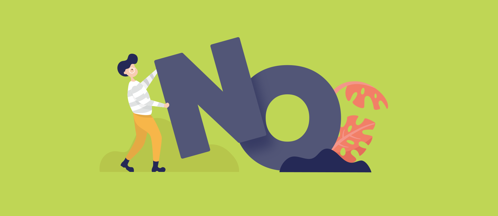 how to say no nicely