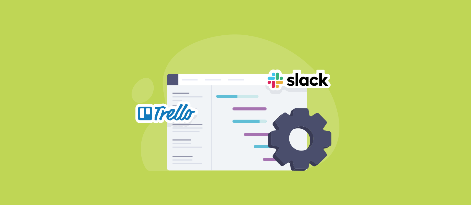 TeamGantt Slack, Trello, and API integrations