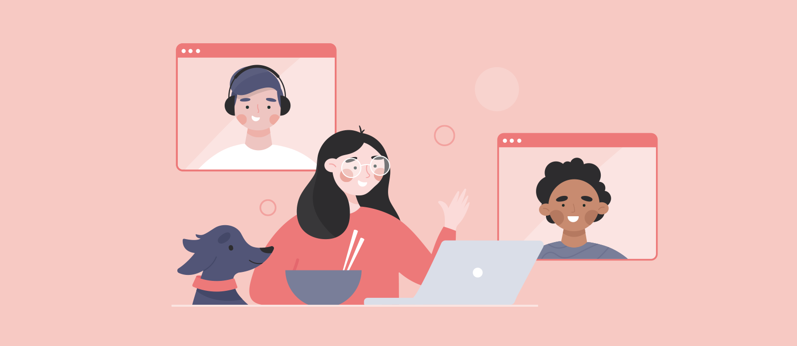 remote work team connection tips