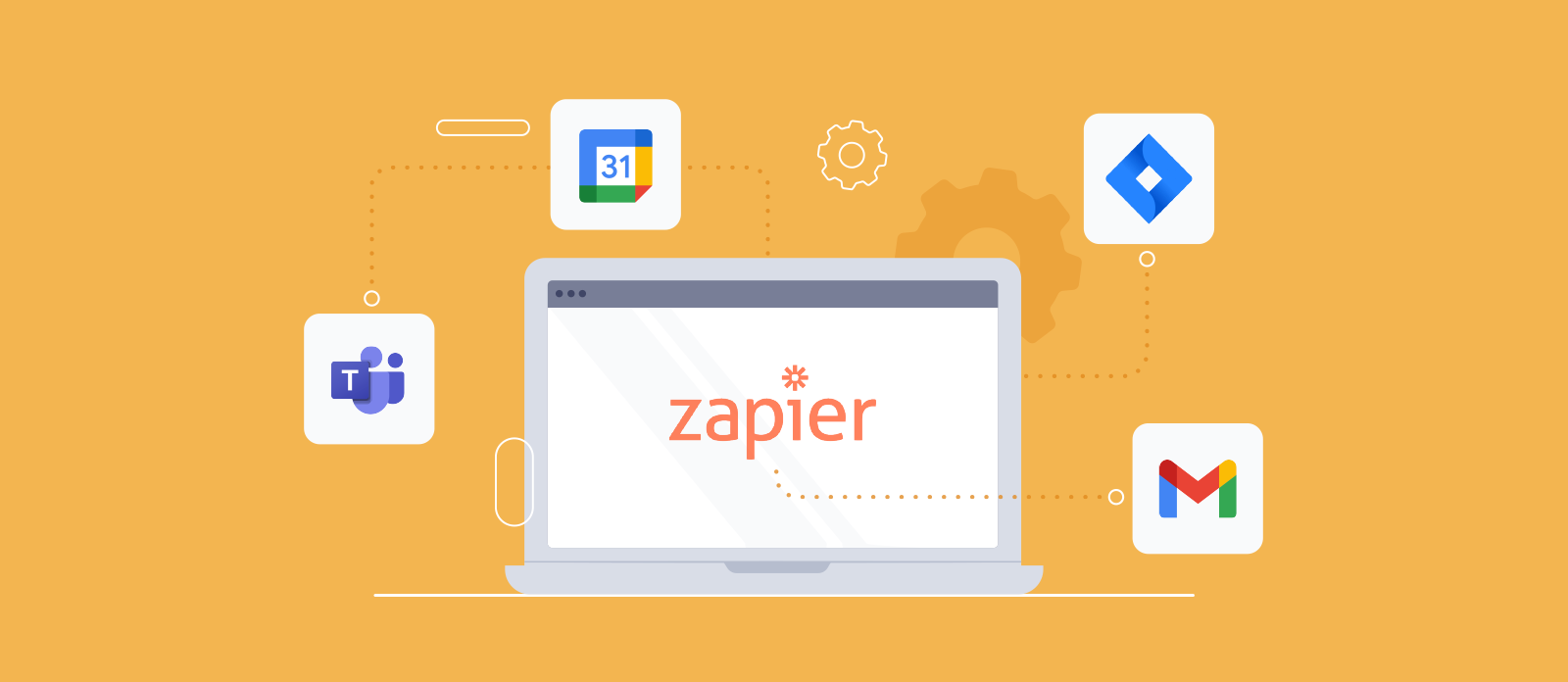 How to connect TeamGantt with Google Workspace, Jira, and Microsoft Teams using our Zapier integration