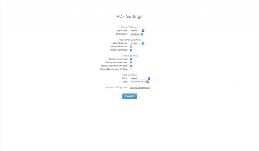 Kitchen Sink Studios case study: PDF export settings