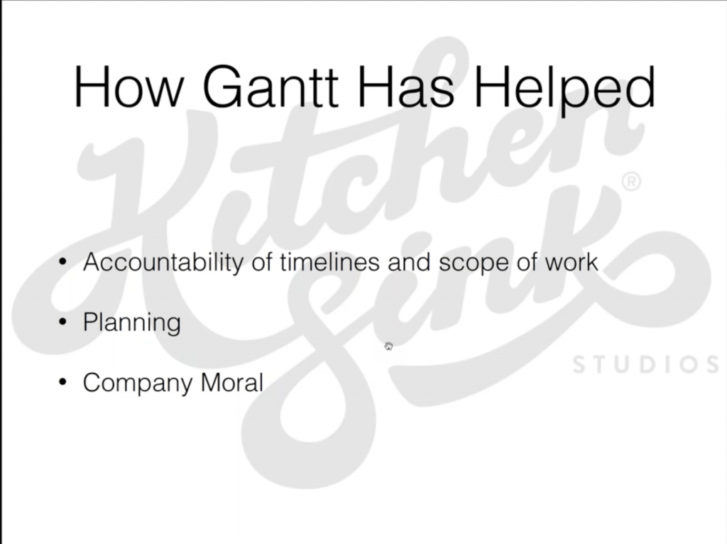 How TeamGantt has helped Kitchen Sink Studios