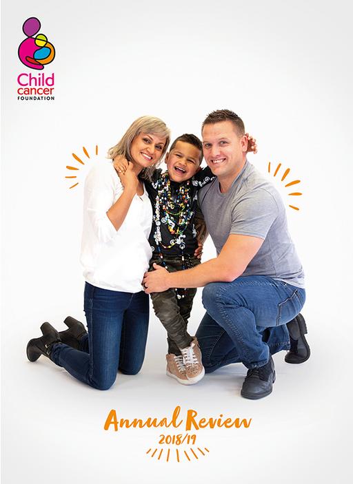 Child Cancer Foundation  - Jackie  Gray-Parker