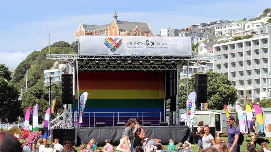 Wellington Pride Festival 2020 - Bradley Pratt