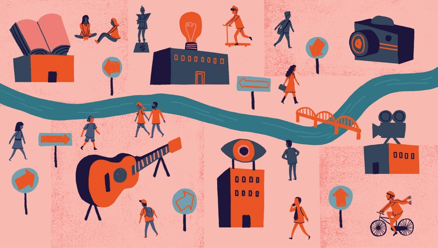 Illustration for Pantograph Punch - Gary Venn