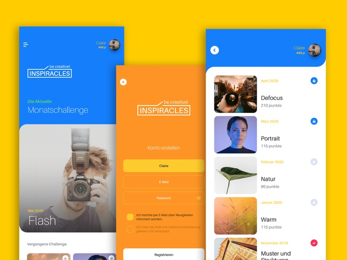 Inspiracles Mobile App - Christopher Kreymborg