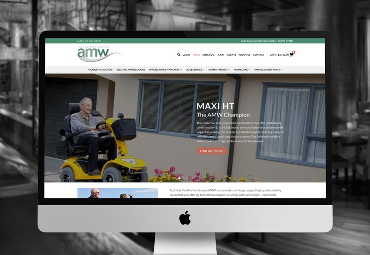 Auckland Mobility Warehouse (AMW) - Gary Richards