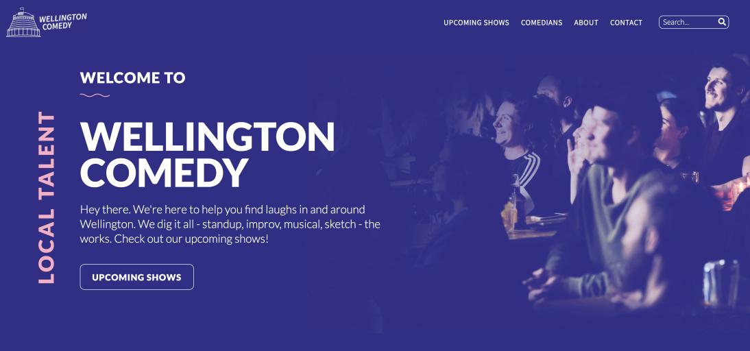 Wellington Comedy - Tim Stannard