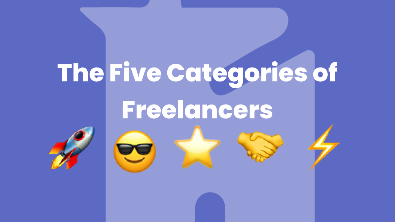 The Five Categories of Freelancers