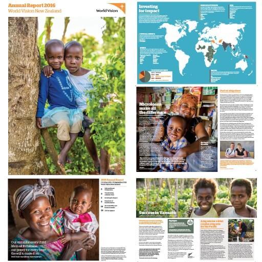 World Vision Annual Reports - Alysa Wakefield