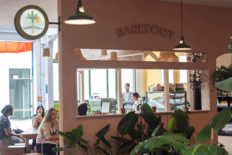 Barefoot Cafe  - Kophie Hulsbosch