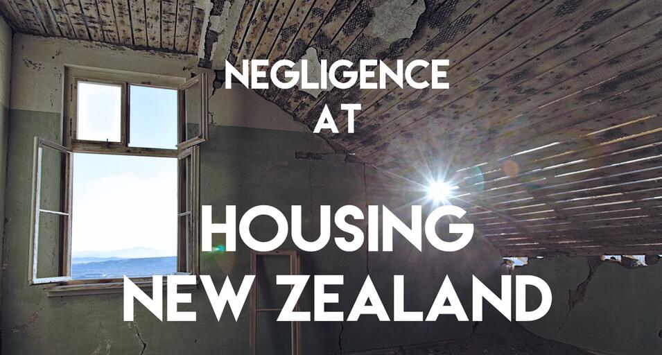 Investigative story: Negligence at Housing New Zealand - Simon Monrad