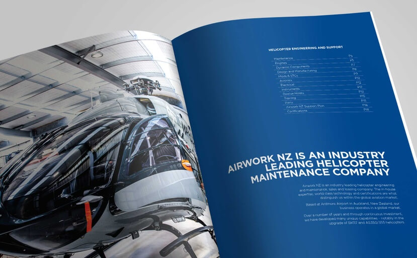 Company Profile Brochure - Gary Richards