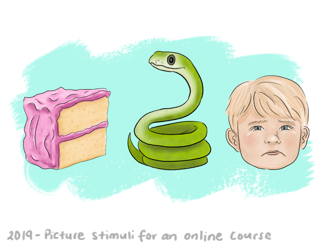 Illustrations for an online course - Elizabeth Knowles