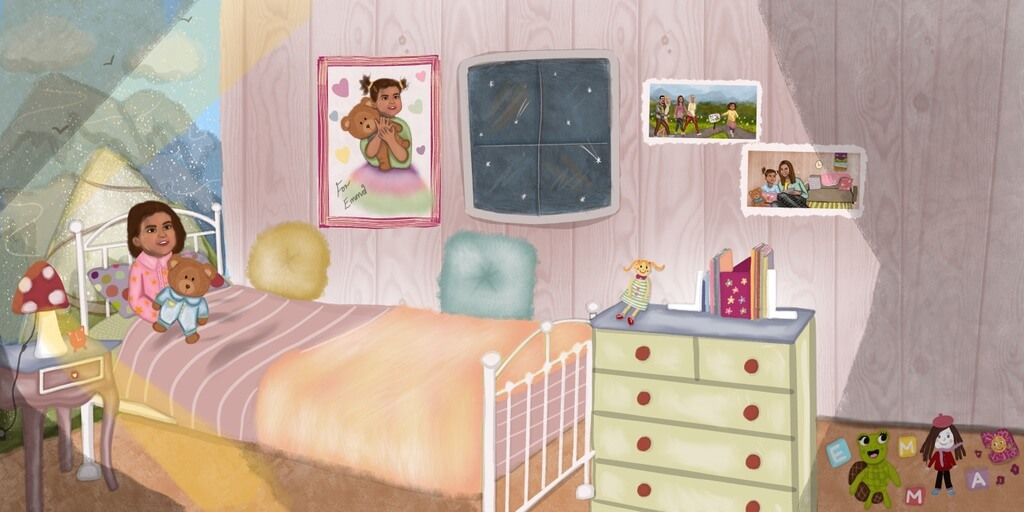 Children's Book dedicated to granddaughter - Georgia  Spence