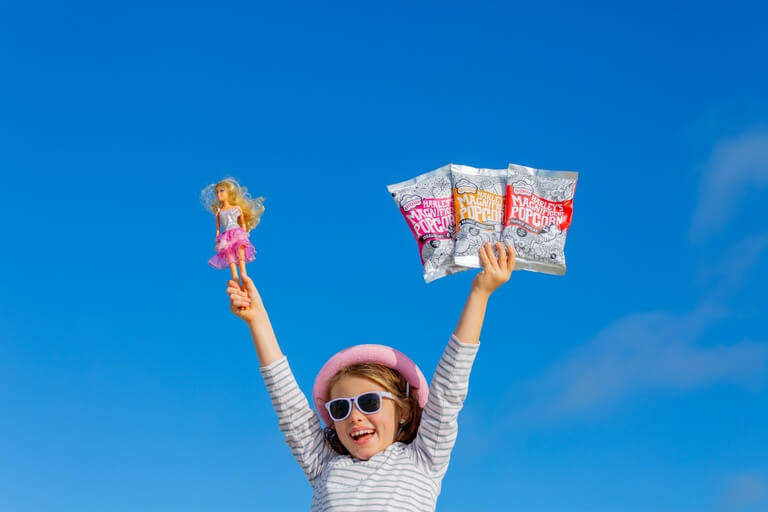 Harley's Magnificent Popcorn - Jess Lowcher