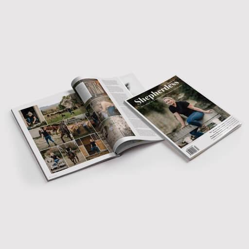 Shepherdess Magazine - Sarah-Jayne Shine