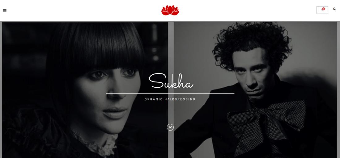 Sukha Organic Hairdressing eCommerce Store - Tracy Kruger