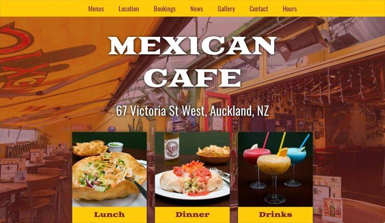 Mexican Cafe - Wayne Knights