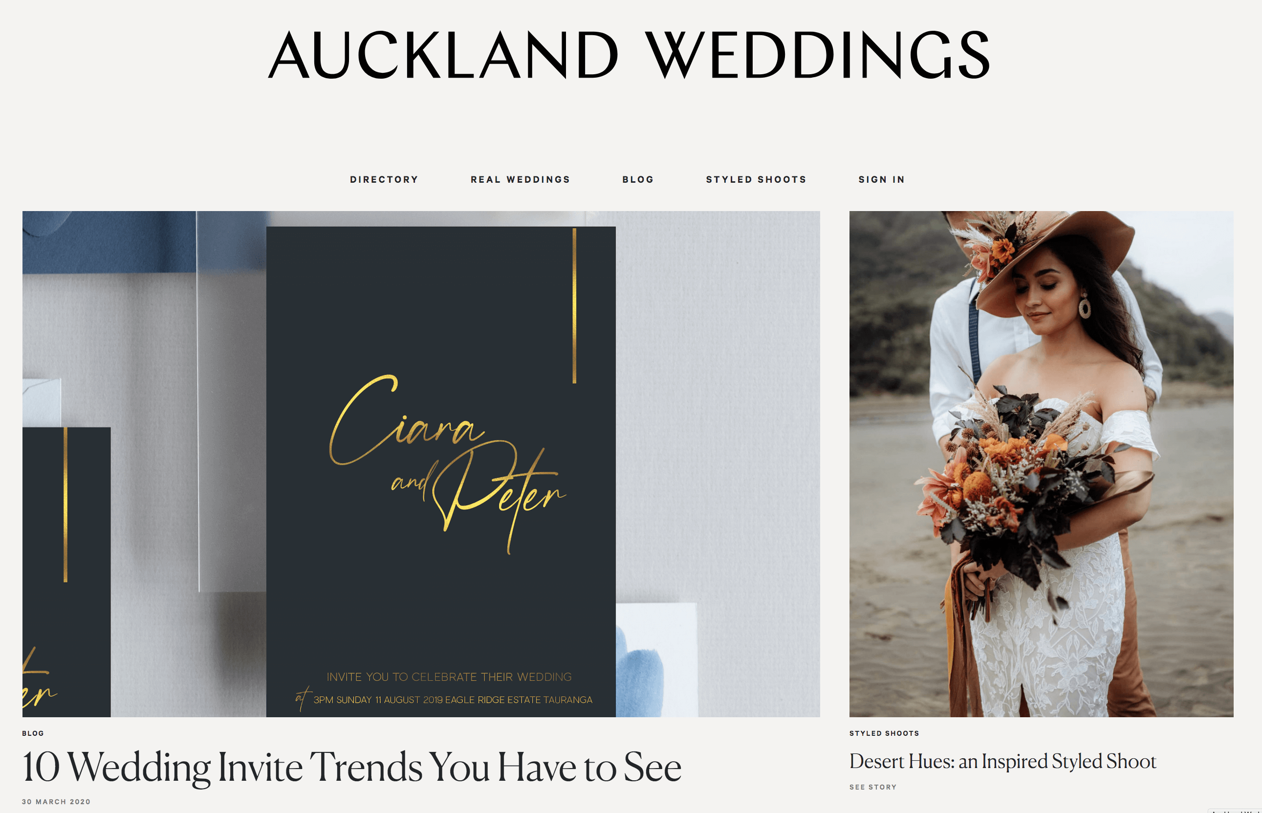 Auckland Weddings - Sam Browne
