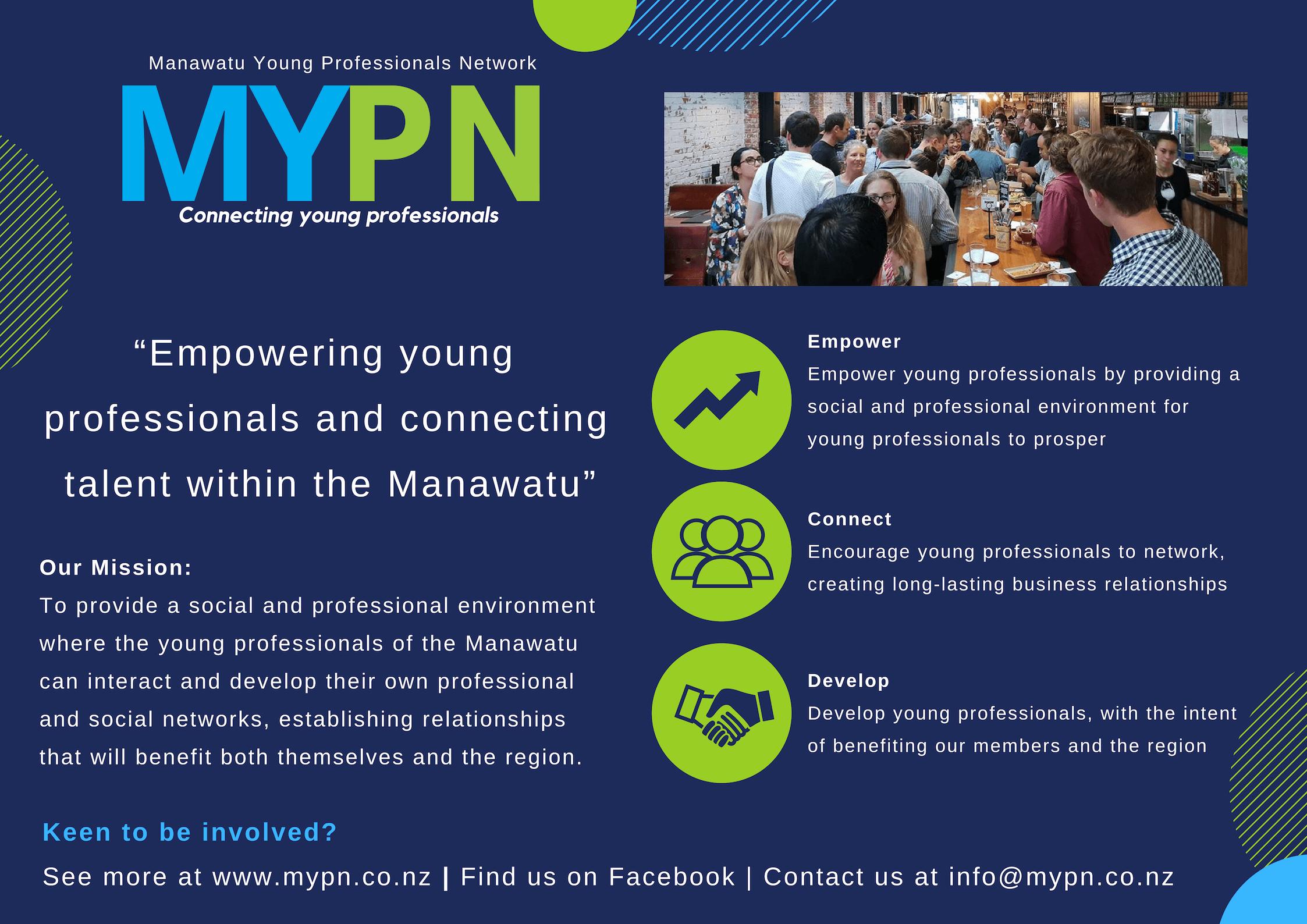Manawatu Young Professionals Network (MYPN) - Jason Benbow