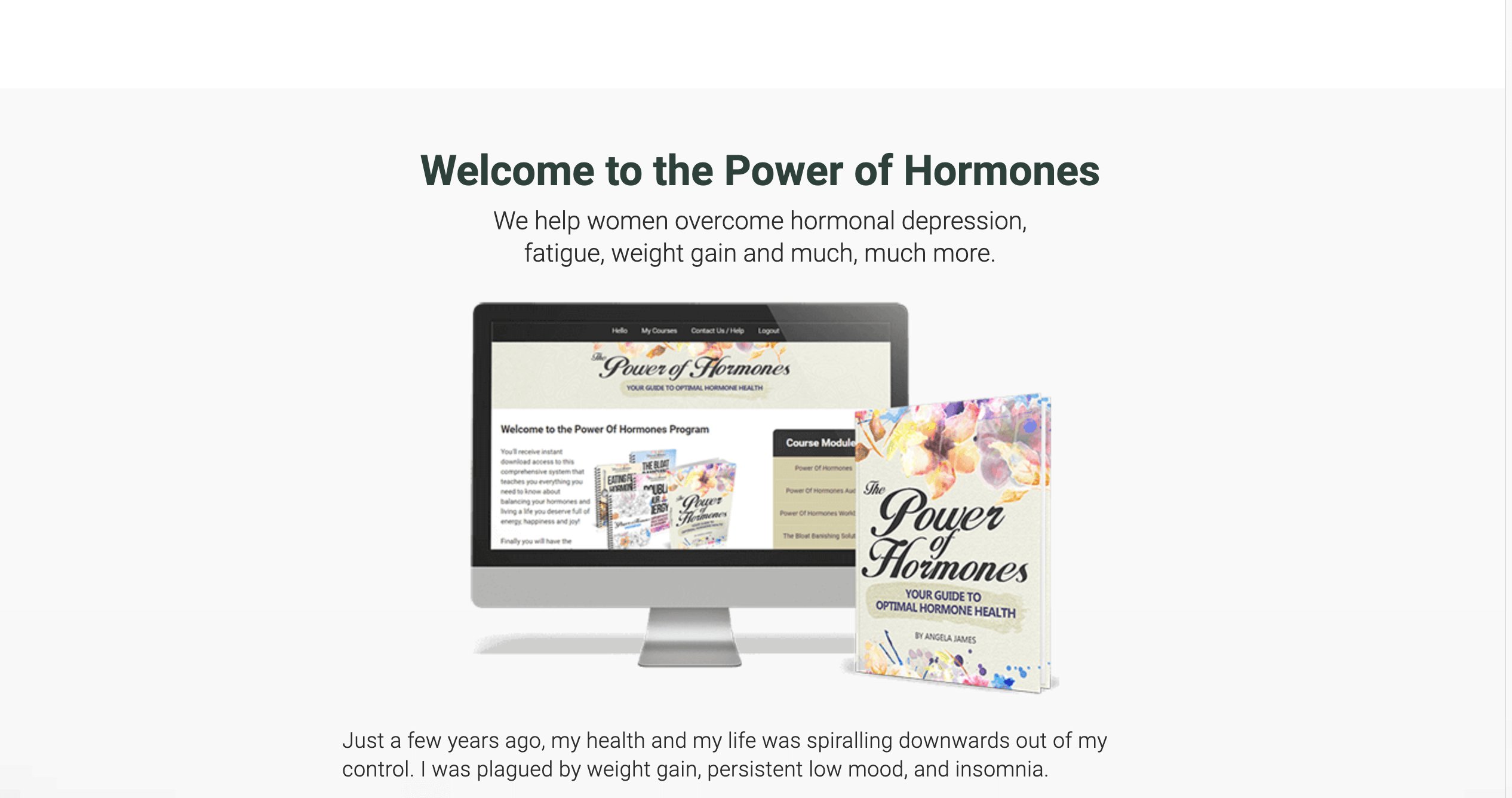 Power of Hormones - Ange Byrne