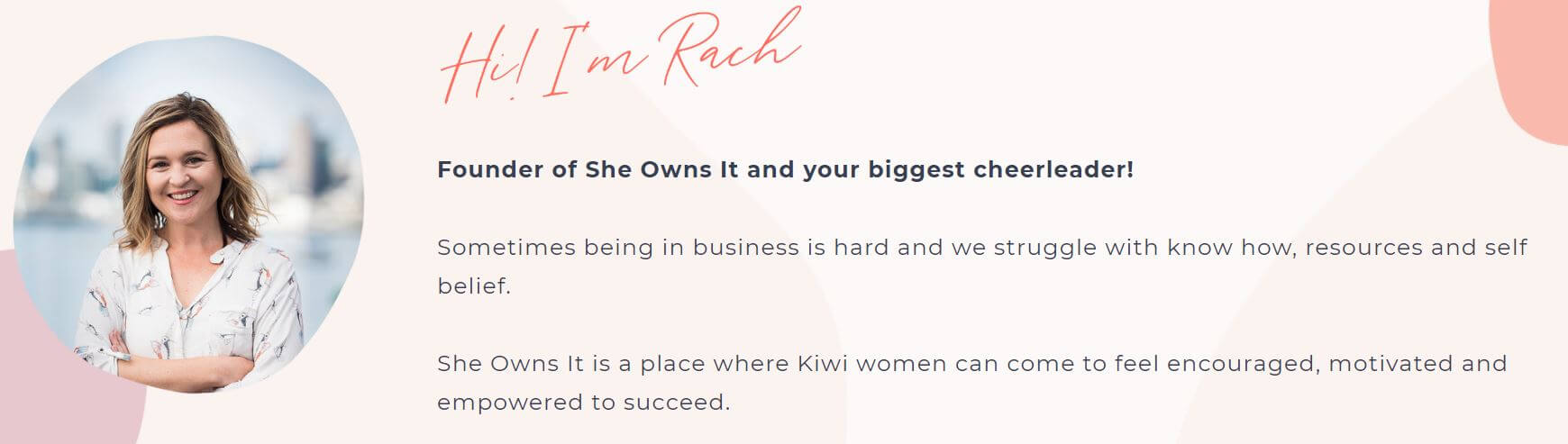 She Owns It NZ - Lucy Bekker