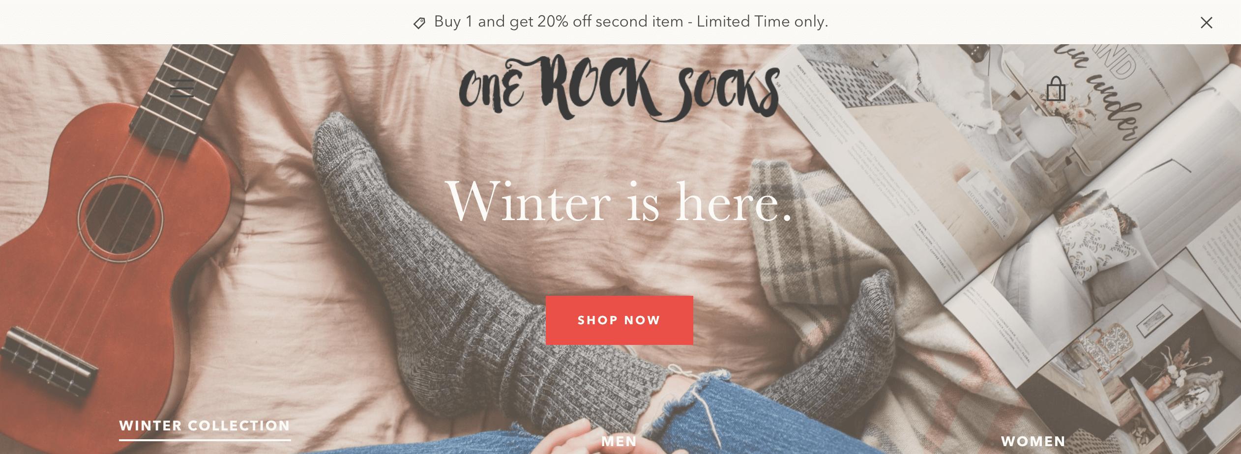 One Rock Socks - Priscilla Yap