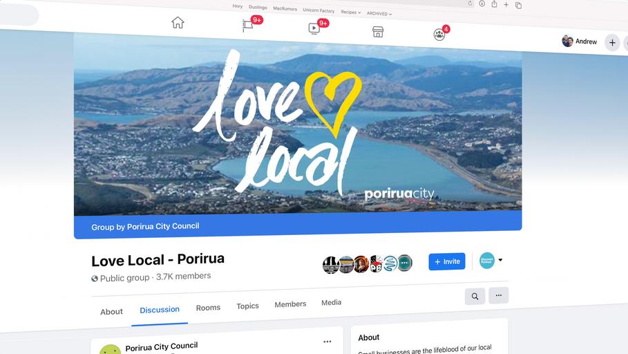 Love Local - Porirua City Council - Andrew Strugnell