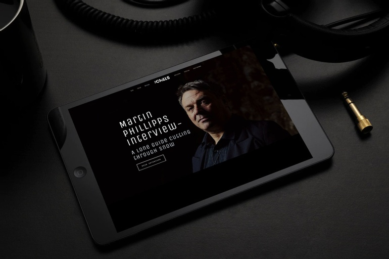The Chills  - A new website for an iconic kiwi band. - Brent Dickens