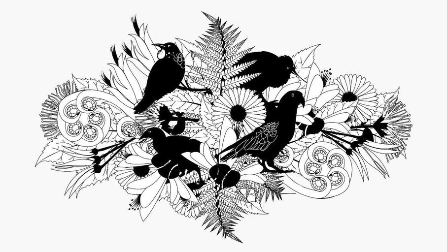 Folder illustration - Gemma van Ryn