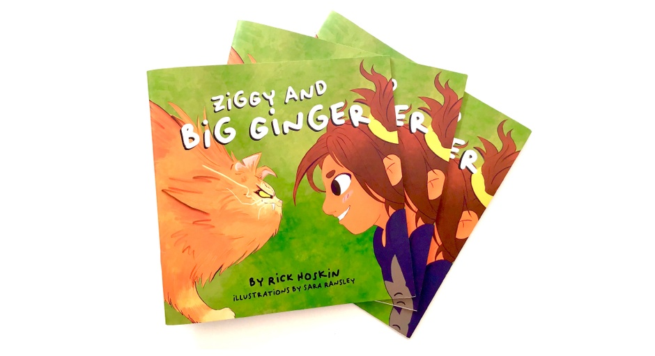 Ziggy and Big Ginger [children's picture book] - Sara Ransley